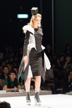 Model on Catwalk