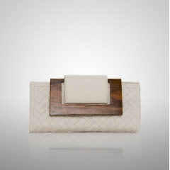 Ellie Weave Clutch Bag from Zina Eva