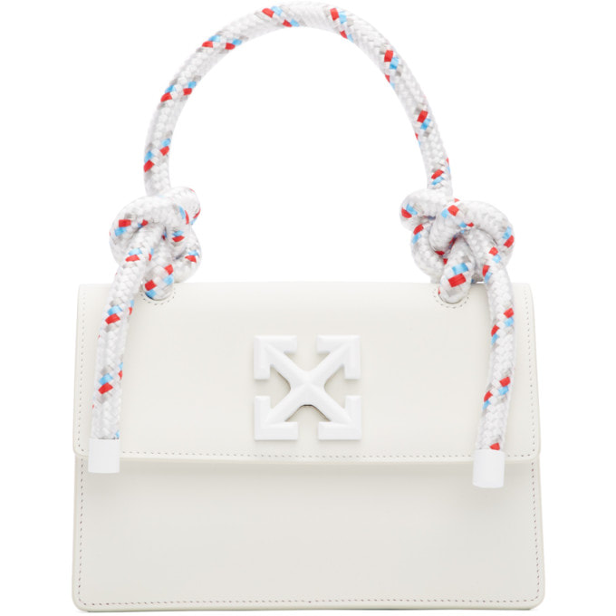 OFF-WHITE WHITE GUMMY JITNEY 1.4 BAG