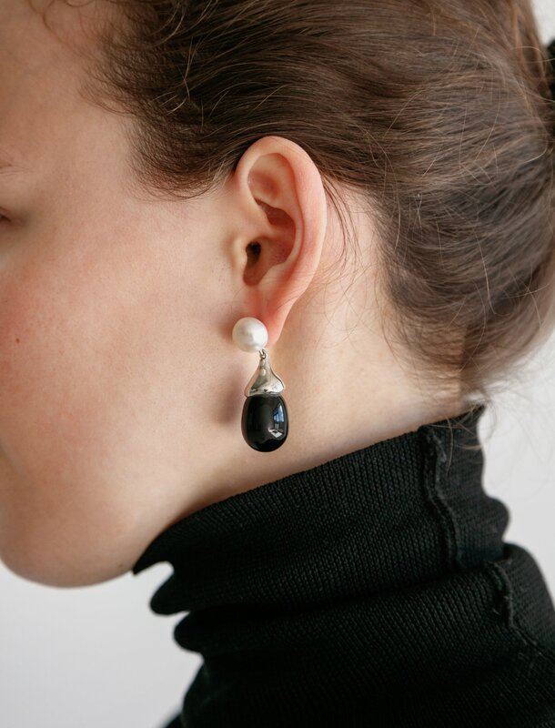 Sophie Buhai Silver Audrey Earrings
