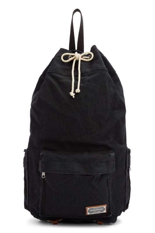 Wacko Maria Black Bonsac Backpack